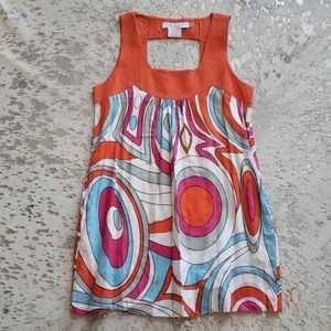 Gretchen Scott Designs Mod Print Cuttout Dress